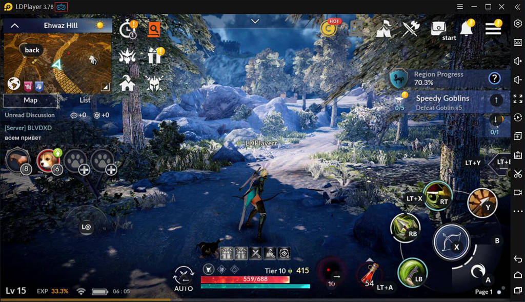 Enable Controller Support For Black Desert Mobile On LDPlayer