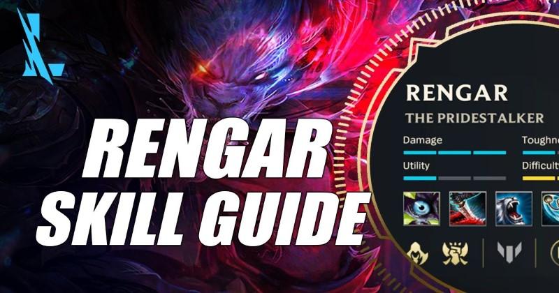 LOL Wild Rift Rengar Skill Introduction