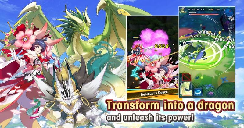 Dragalia Lost Dragon Shapshifting Intro