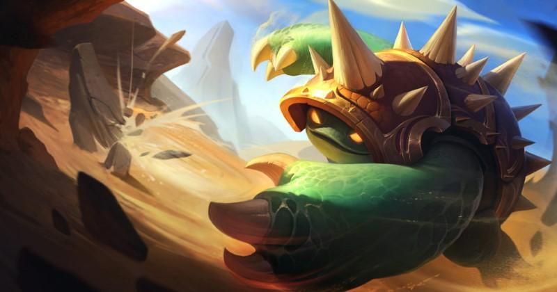 LOL: Wild Rift Rammus
