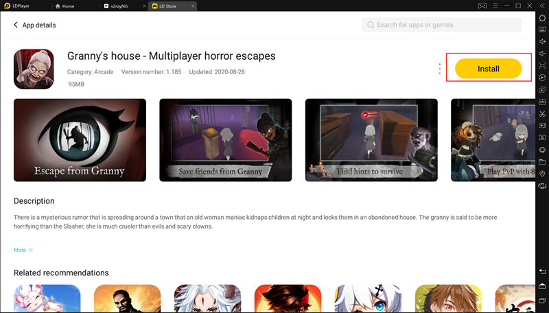 Granny's house - Multiplayer horror escapes
