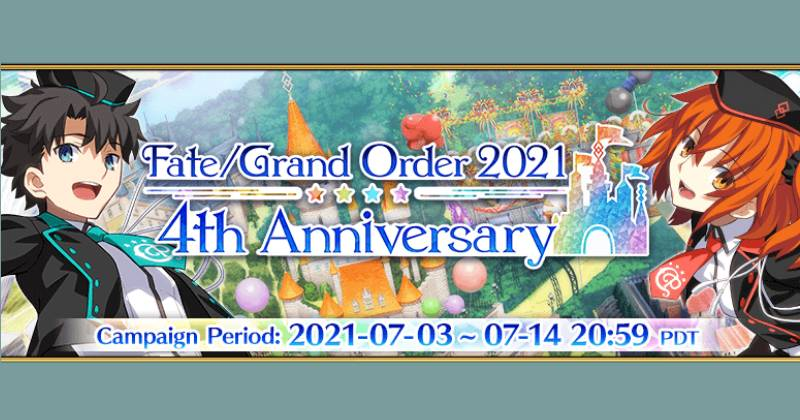 Fate Grand Order   Revival Event Servant Summer Festival Lite