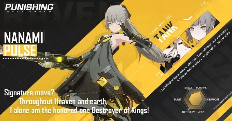 Punishing-Gray Raven Nanami Pulse