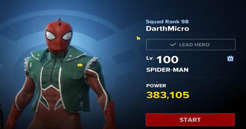 MFR spider man