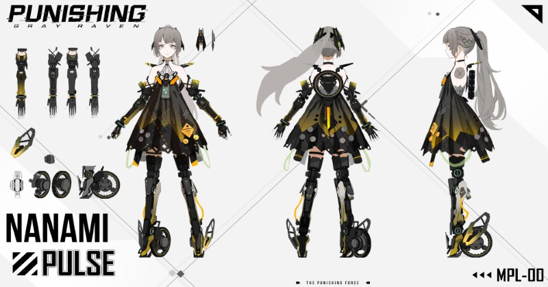 Punishing-Gray Raven Nanami Pulse Weapons and Memories