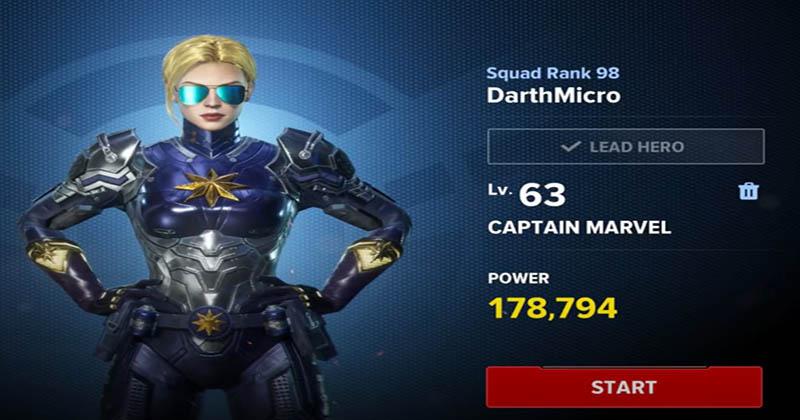 MFR Captain Marvel