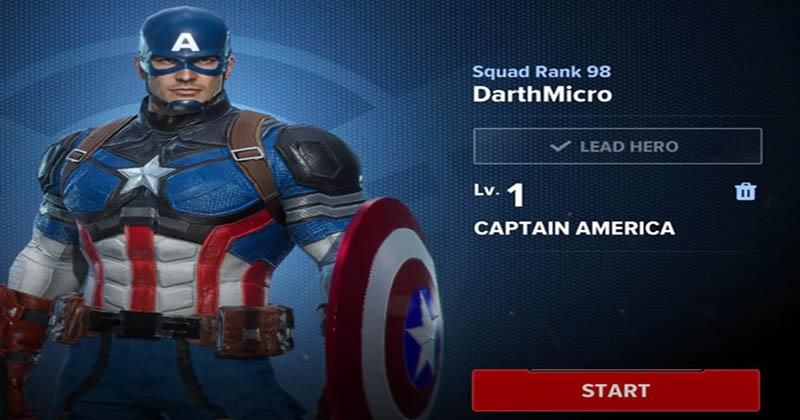 MFR captain America
