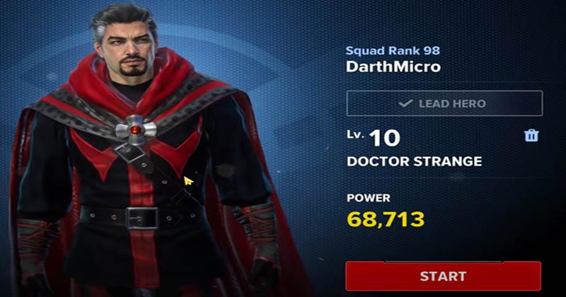 MFR doctor strange