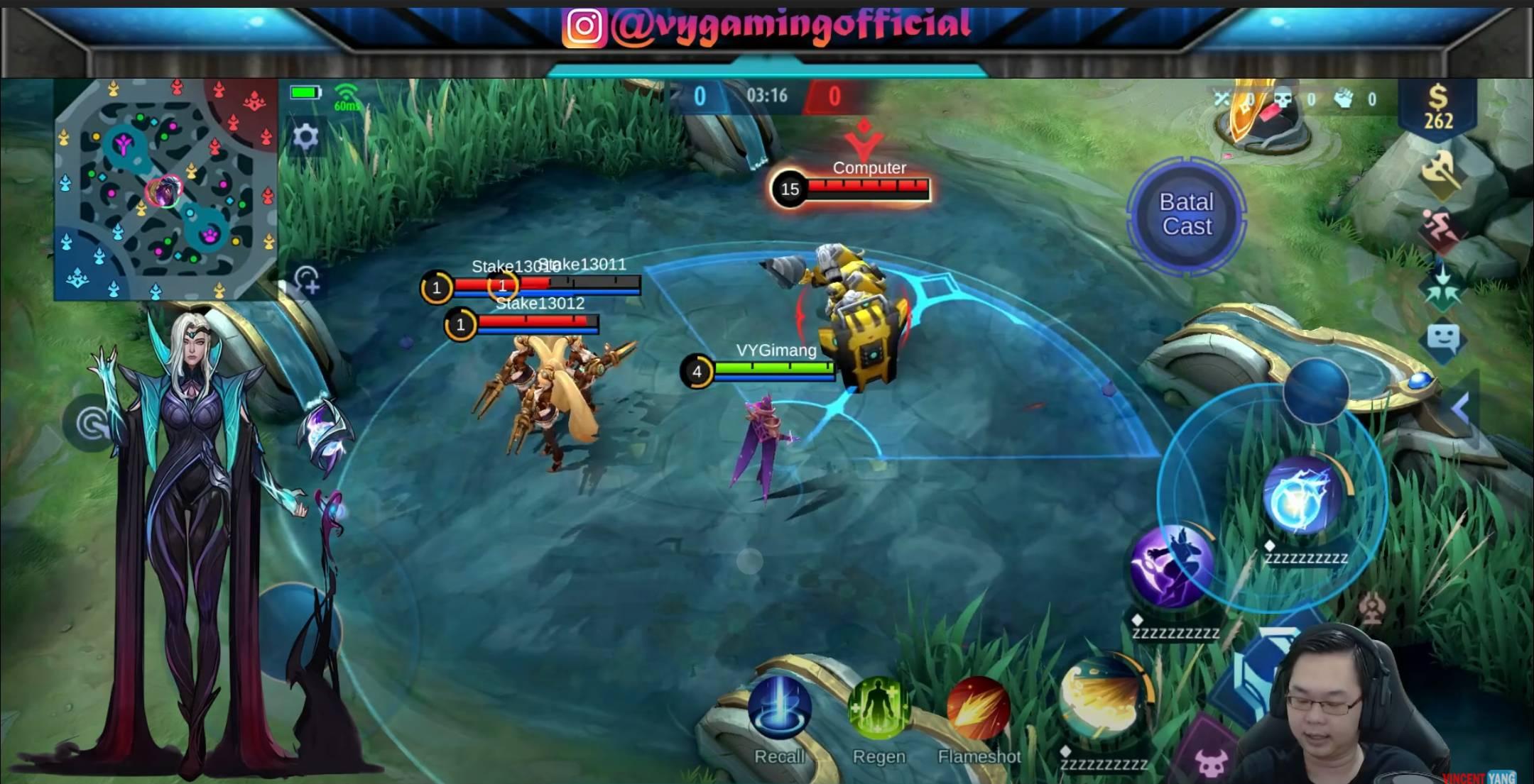 Bocoran Gameplay dan Skill Hero Baru Mobile Legends: Bang Bang Valentina
