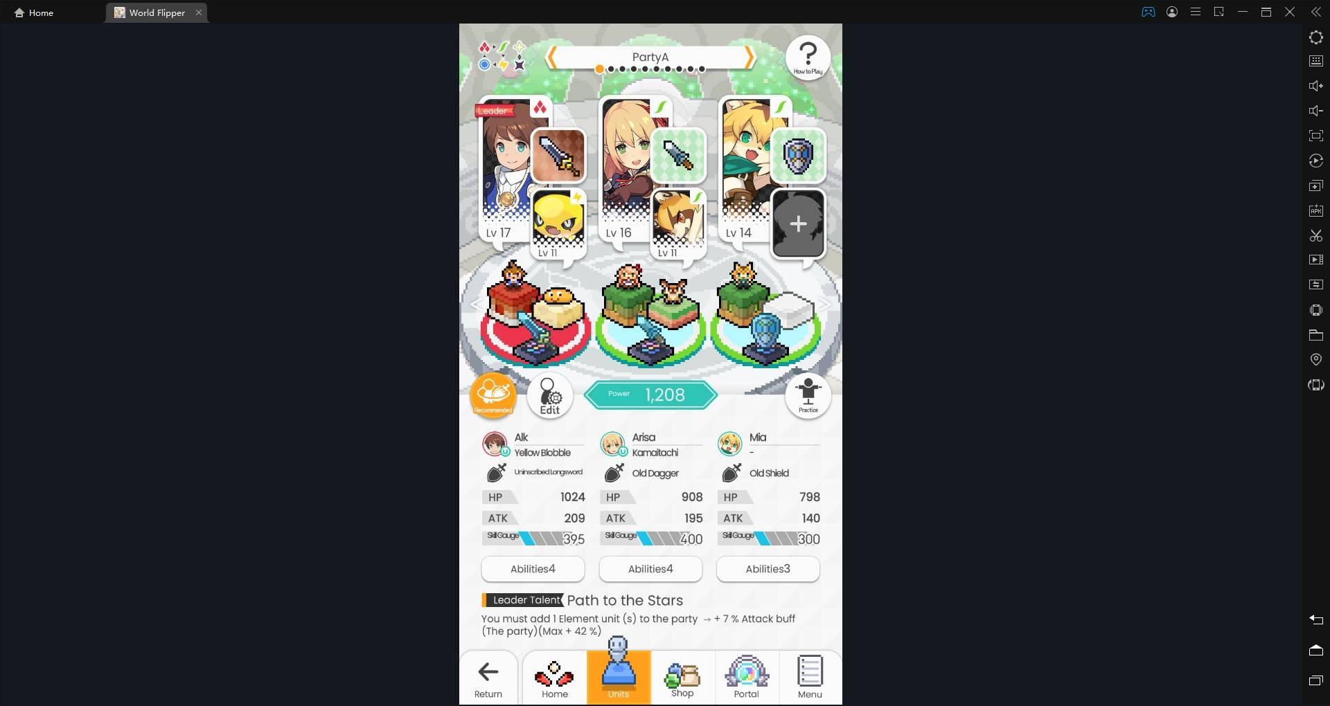 Bermain Game Android World Flipper Menggunakan Emulator LDPlayer di PC: Kumpulan Panduan Dasar dan Tips untuk Pemula