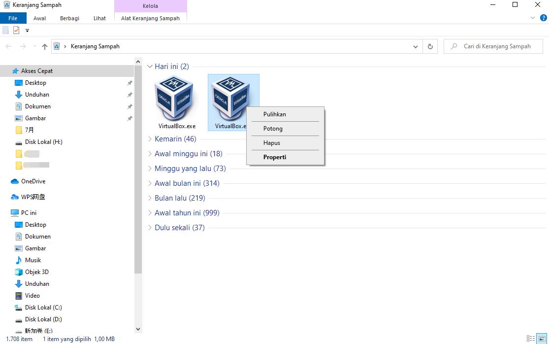 Pembaruan versi sistem operasi Windows 10 20H2 meminta bahwa itu tidak mendukung solusi VirtualBox