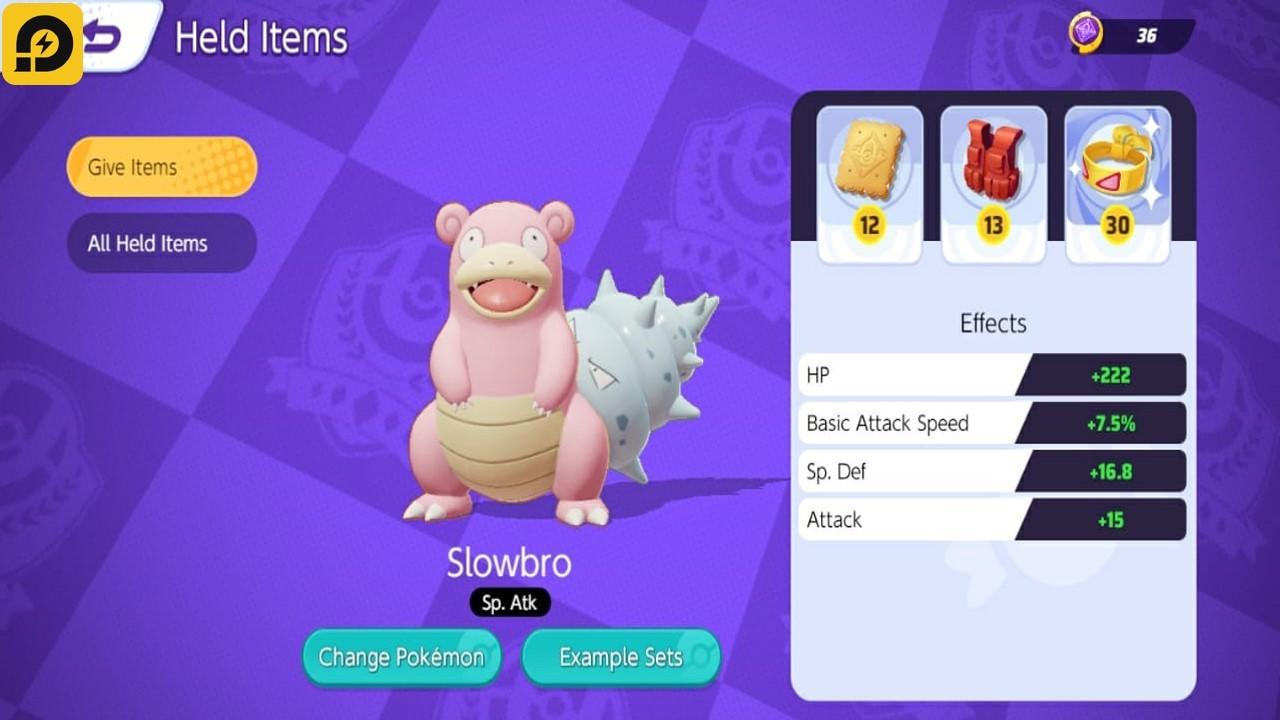 Main Pokémon UNITE di PC: Panduan Memilih Held Item yang Tepat untuk Hero Pokémon