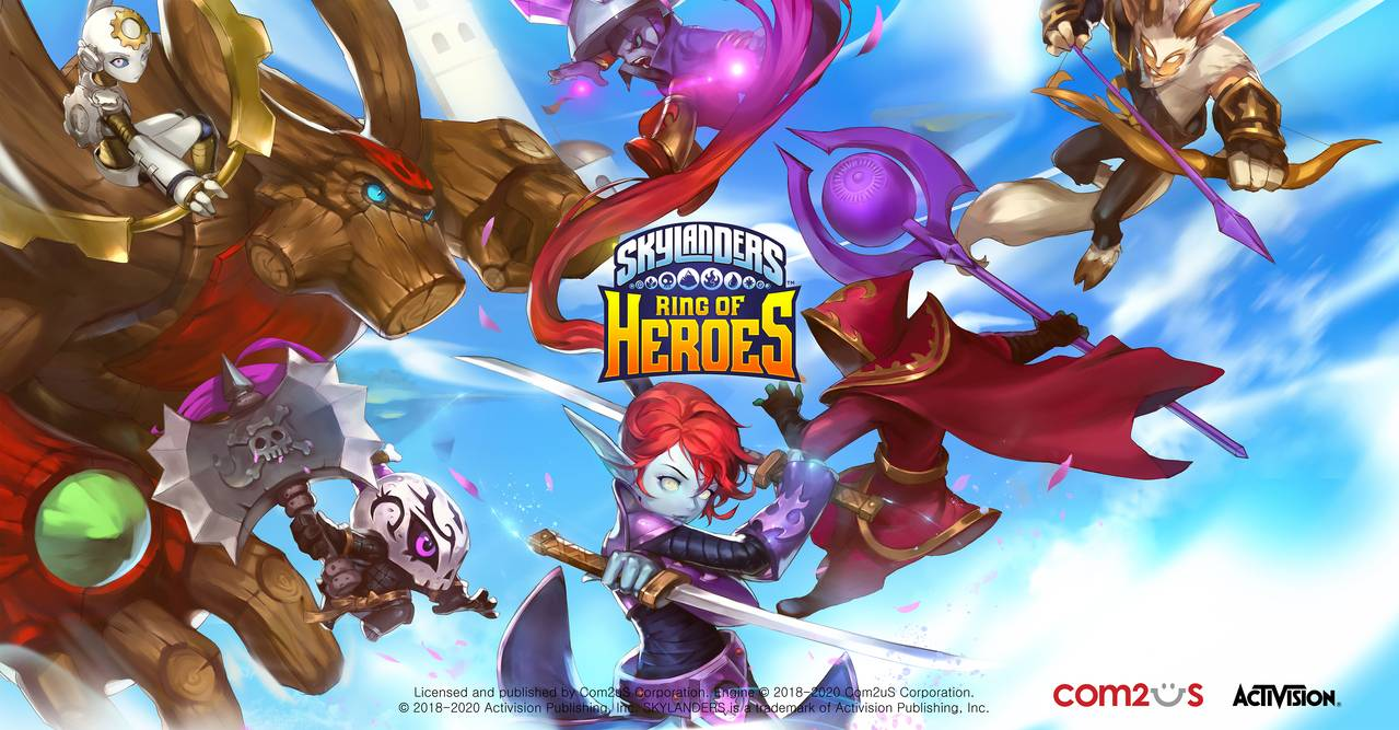 Activision全球超人氣IP遊戲 改編手遊新作 《天空守護龍 英雄戰場》 事前預約正式開跑
