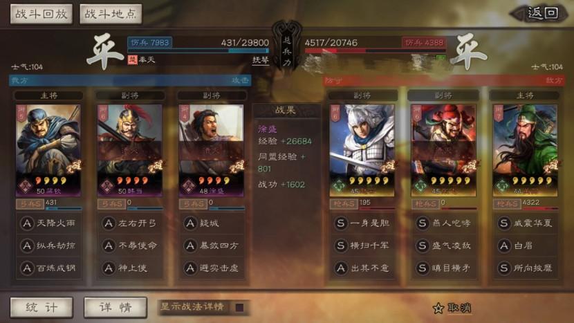 【攻略】《三國志・戰略版》好用又強力的四星組合