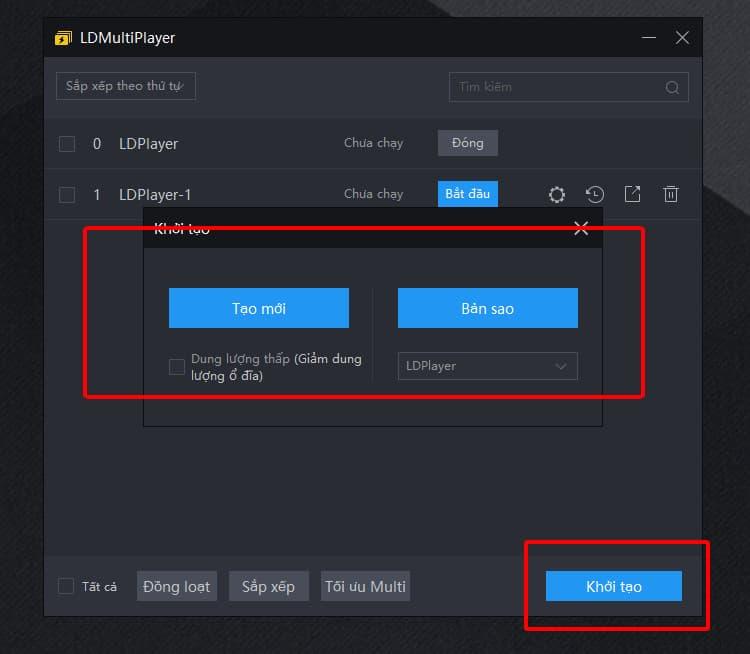 [Hướng dẫn] chức năng đa mở của LDPlayer