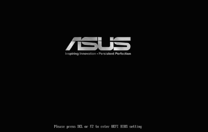 Método para entrar no Bios - ASUS