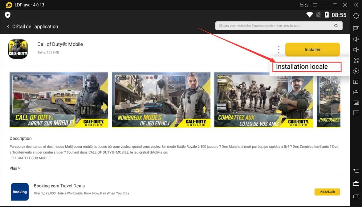 Telecharger Call of Duty sur PC Installer Local